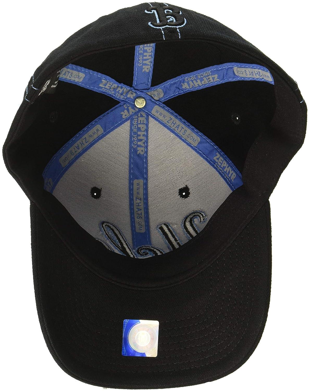 Black Zephyr Mens Finisher Z-Fit Cap X-Large