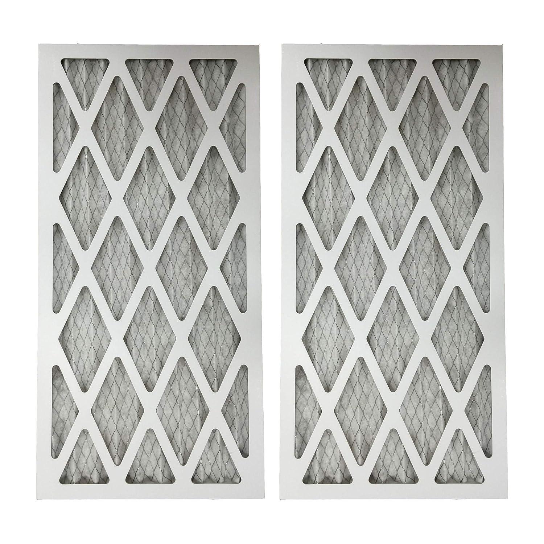 2 MERV 11 Allergen Air Furnace Filters 16x25x1 Crucial Air