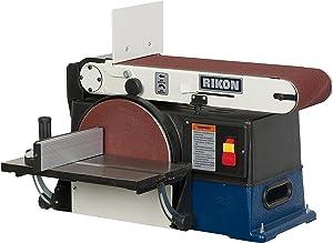 RIKON 50-120 6-by-48-Inch Belt 10-Inch Disc Sander