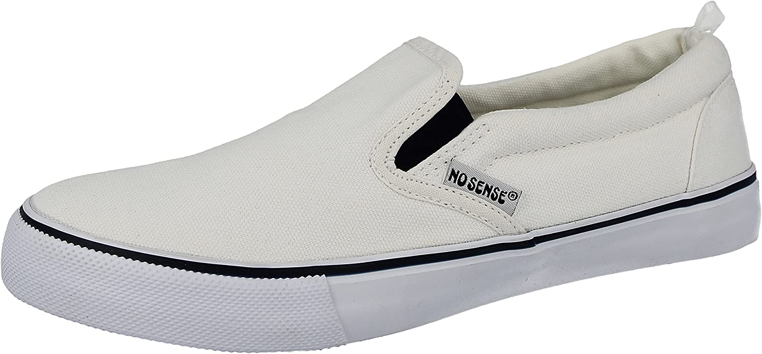 affordable price low price various design Ladies White Canvas Slip On Plimsoll Pumps Casual Trainers Shoes ...