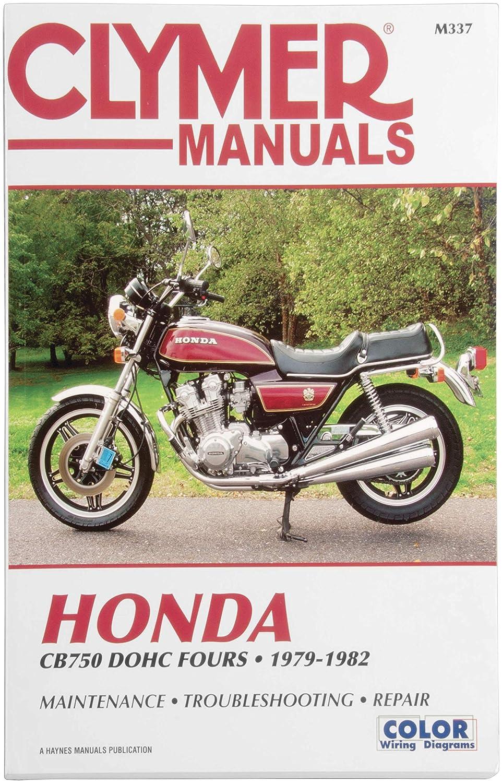 M337 Clymer m337 manual hon cb750 dohc