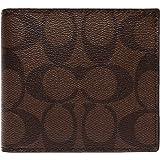 [コーチ] COACH 財布 (二つ折り財布) F75006 マホガニー×ブラウン MA/BR シグネチャー 財布 メンズ [アウトレット品] [並行輸入品]