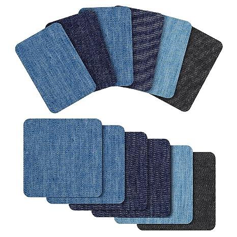 2bb8c5b7f2 18 pezzi toppe jeans , Diyiron toppa per jeans per Jean abbigliamento e  Jean pantaloni
