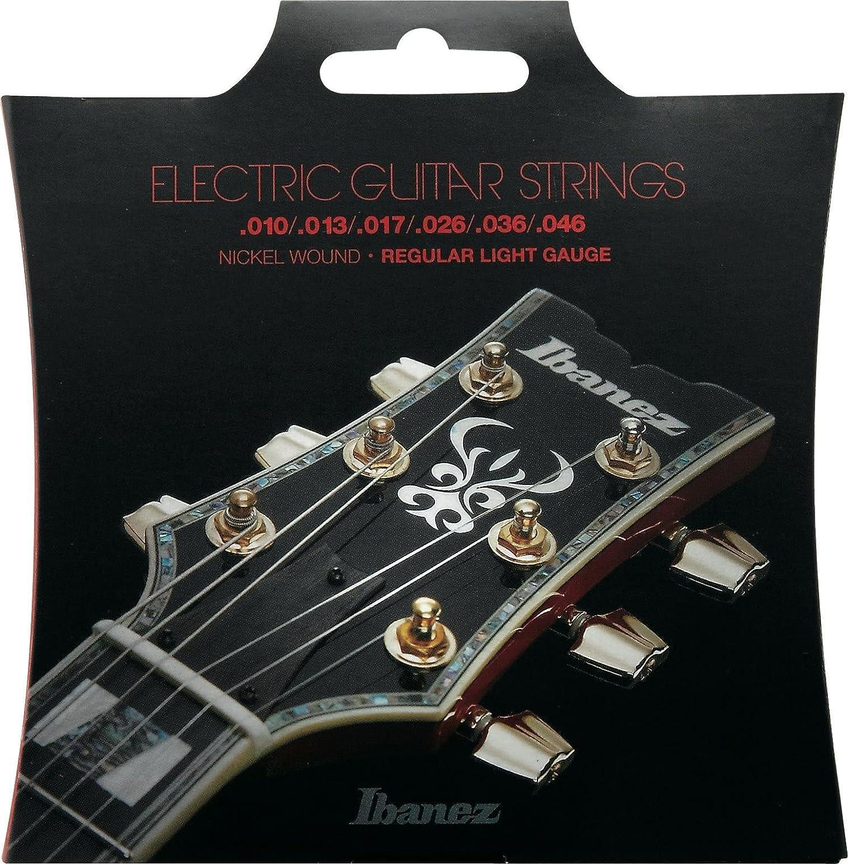 Ibanez IEGS61 - Juego Juego de cuerdas para guitarra eléctrica ...