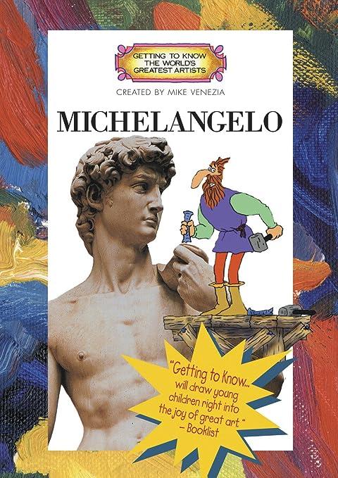 getting to know michelangelo artist book dvd set