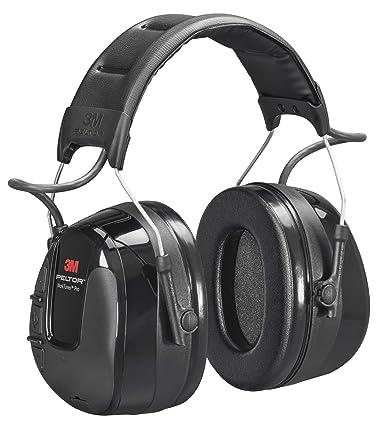 3M Peltor WorkTunes Pro FM Radio Gehörschutz, 32dB – Zuverlässiger Ohrenschutz mit integriertem Radio – Ideal für Forst-, ode