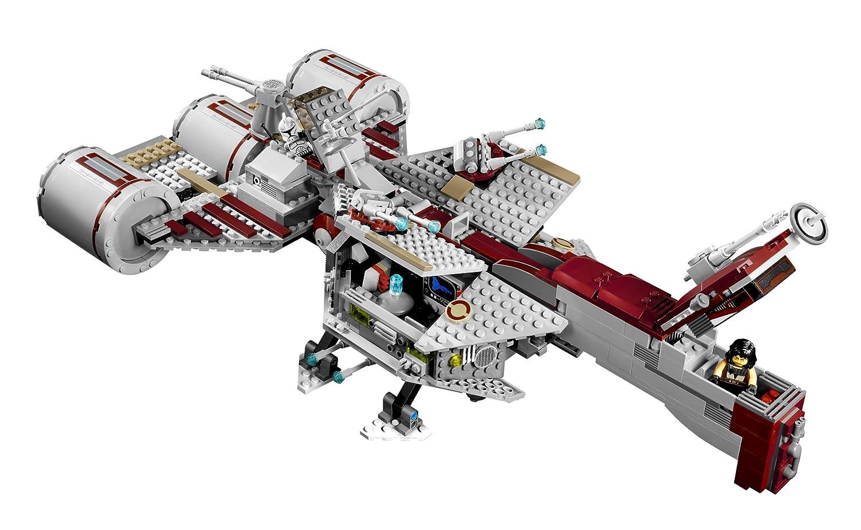 lego star wars 7964 jeu de construction republic frigate amazonfr jeux et jouets