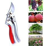 Secateurs,SK-5 Model Stainless Steel Garden Pruning Shears for Precise Cuts, Perfect For Trees, Plants, Hedges