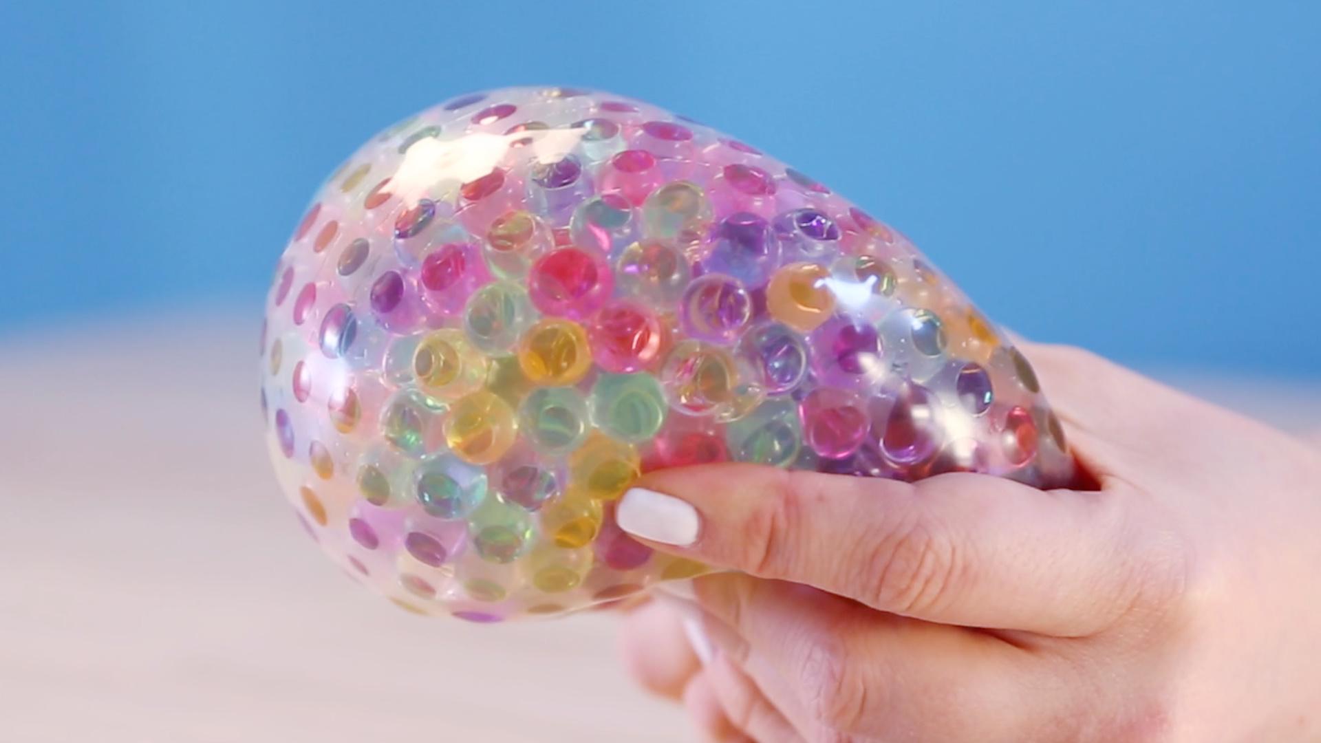 orbeez ball  DIY Orbeez Stress Ball