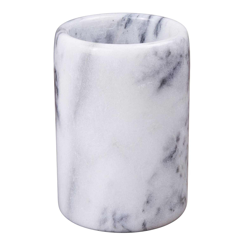 Creative Home White Marble Stone Tumbler