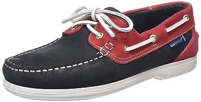 Bermuda, Chaussures Bateau Femme, Blue (Navy/Magenta), 42 EUQuayside