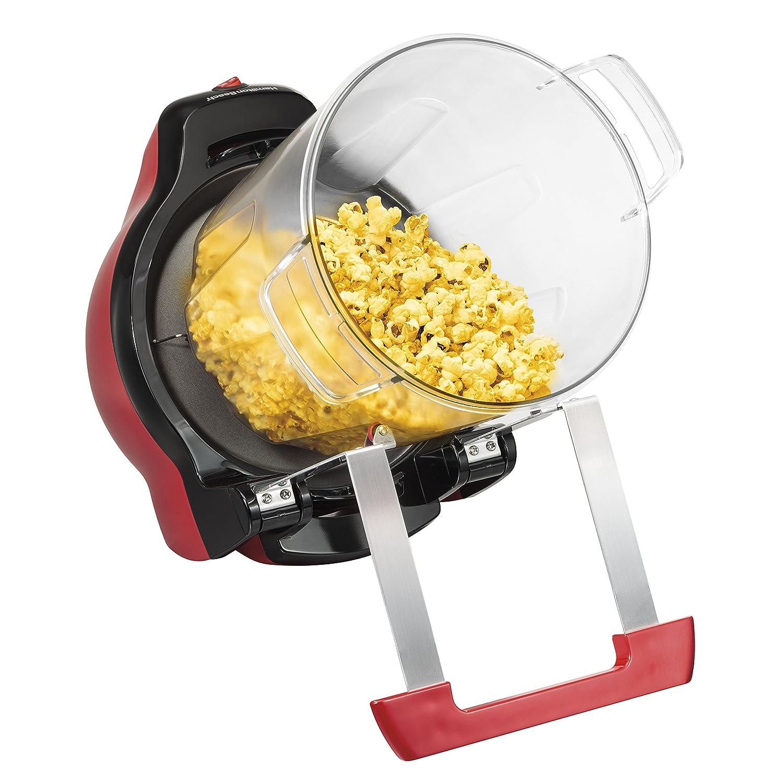 Amazon Hamilton Beach 73304 Gourmet Popcorn Maker Red Kitchen