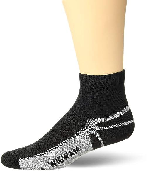 2142c3a3804f Wigwam Ironman Thunder Pro Quarter Socks White MS: Amazon.in ...