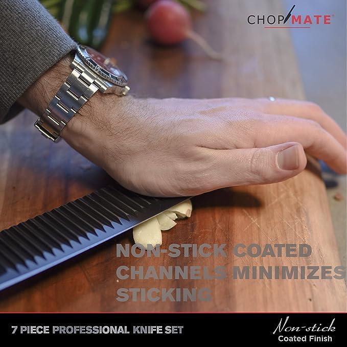 Amazon.com: chopmate 7 piezas Juego de cuchillos ...