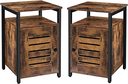 HOOBRO Nightstand Set of 2