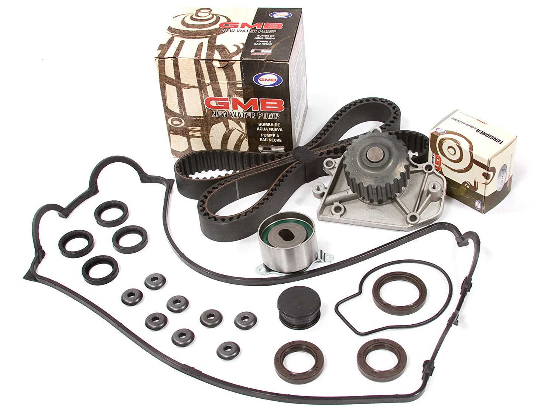 Amazon.com: Evergreen TBK247VC Fits 94-01 Acura Integra GSR Type-R VTEC 1.8 DOHC B18C1 B18C5 Timing Belt Kit Valve Cover Gasket GMB Water Pump: Automotive