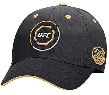 c15208e01c7 UFC Men s Authentic Structured Flex Cap L XL Fitted Hat