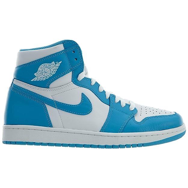 best service cbde7 84af3 Nike Herren Air Jordan 1 Retro High OG Fitnessschuhe, weiß, Small   Amazon.de  Schuhe   Handtaschen