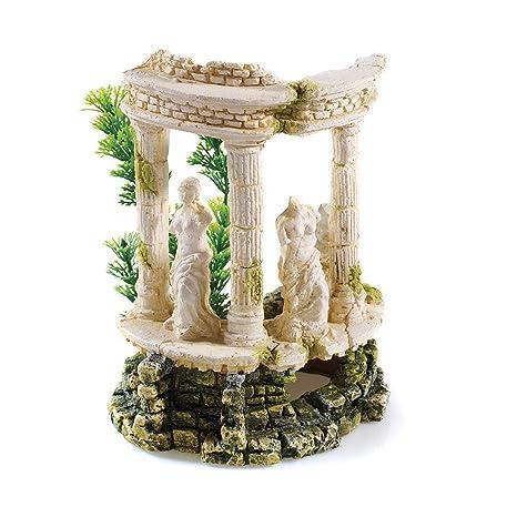 Amazoncom Polyresin Grecian Goddess Aquarium Decoration 18cm
