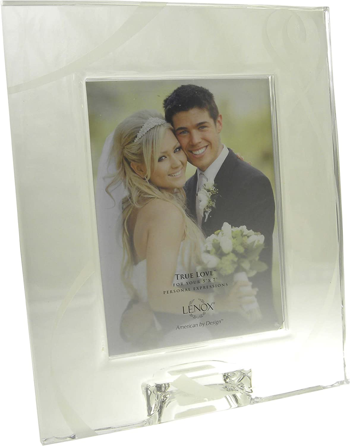 Lenox 5x7 Bear Frame Silver Accents Picture Frames