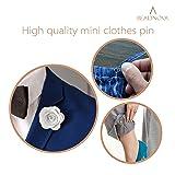 BEADNOVA Safety Pins Nickel Finish Clothing Pins