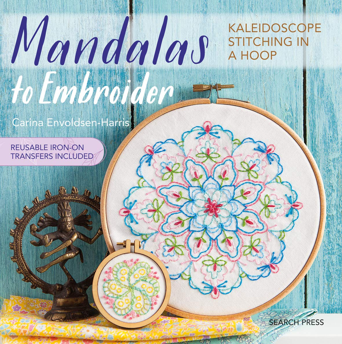 mandalas to embroider kaleidoscope stitching in a hoop carina