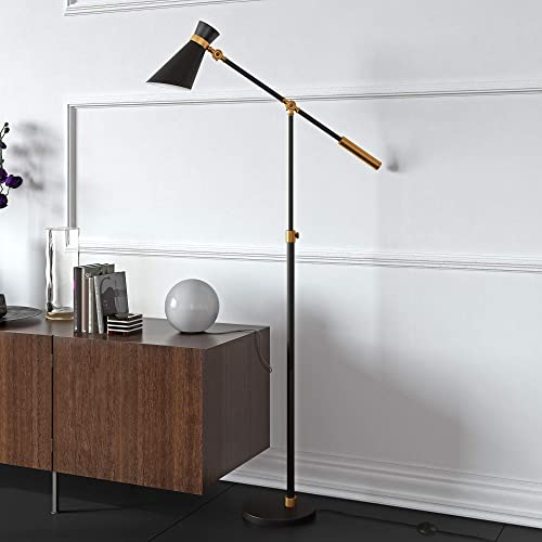 Henn Hart Industrial Two Tone Floor Lamp