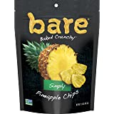 bare Simply Pineapple Fruit Snack Pack, Gluten Free Snacks, 1.6oz, (6 Count)