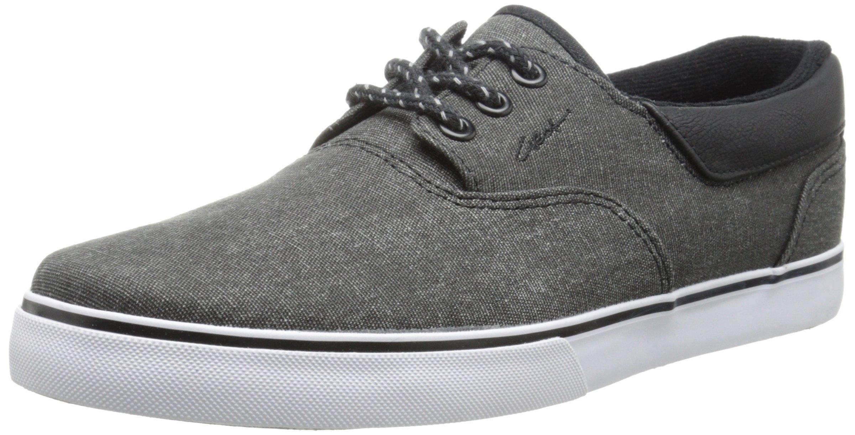 C1RCA Valeo SE Skate Shoe, Black/Gum, 9 M US