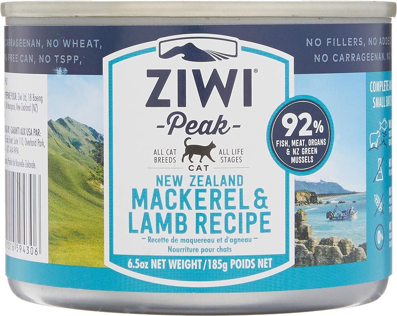 Ziwi Peak Daily Cat Cuisine - Latas de Cordero y caballa (185 g, 12 Unidades)