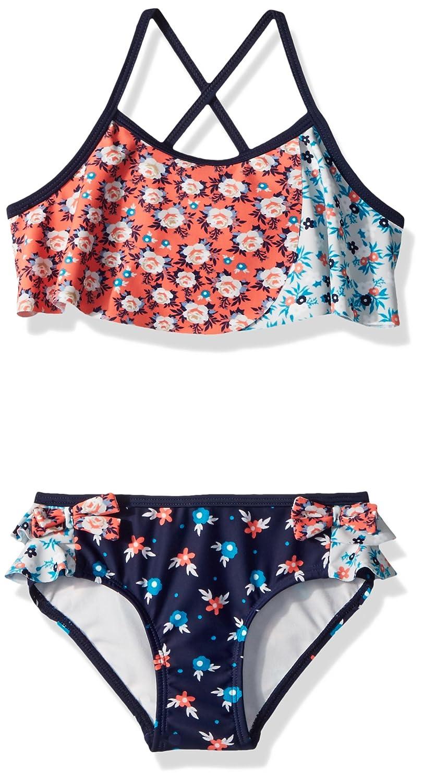 Jessica Simpson Girls' 2-Piece Bikini Swimsuit Set