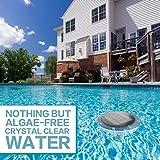 Solar Pool Ionizer Kills Algae Using 80% Less
