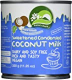 Nature's Charm Sweetened Condensed Coconut Milk, 11.25 Oz. (Pack of 6)