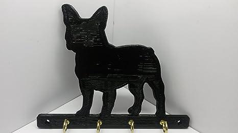 Amazoncom Abs Plastic French Bulldog Dog Leash Rack Leash Holder