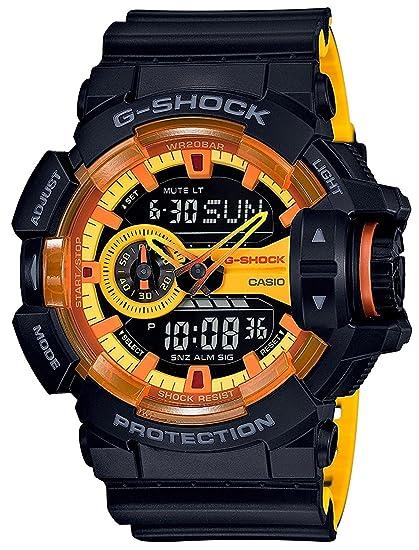 Reloj Casio G-shock - Reloj G Shock ga-400by-1 a hombre: Amazon.es: Relojes