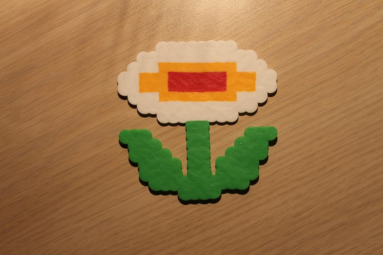 Amazon Com Fire Flower Pixel Art Bead Sprite From Super Mario