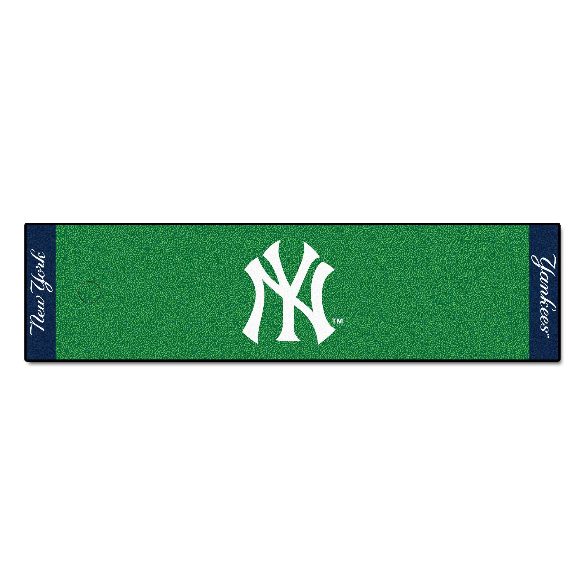 FANMATS MLB New York Yankees Nylon Face Putting Green Mat (9062)