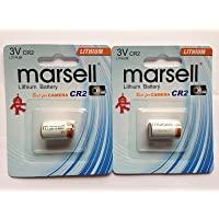 2 X CR2 Battery Lithium 3V Replacement Battery for Digital Camera