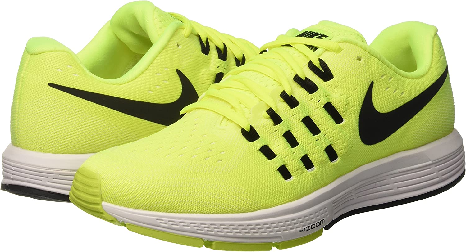 Nike Air Zoom Vomero 11 - Zapatillas, Hombre, Multicolor (Volt/Black-White-Summit White), 42: Amazon.es: Zapatos y complementos