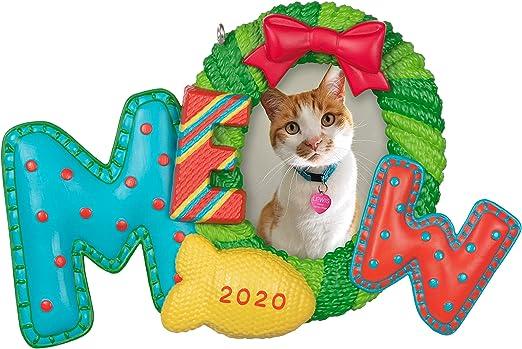 Keepsake Christmas Ornament 2020 Year Dated, Kitty Cat Picture Frame, Photo Frame Amazon.com: Hallmark Keepsake Ornament 2020 Year Dated, Meowy