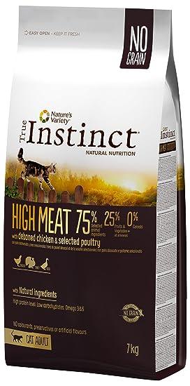 True Instinct pienso para Gatos High Meat Pollo: Amazon.es: Productos para mascotas