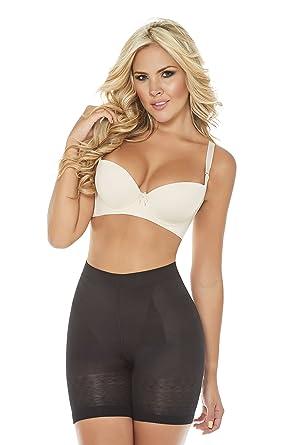 176cbd7ac1 Women s Bodysuit Skin Care Body Shaper Butt-Lift Panty Shapewear Faja  Colombiana Black
