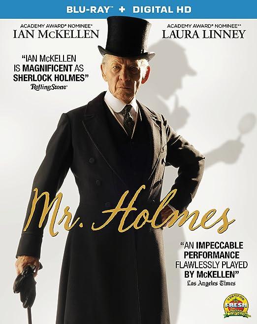 Amazon.com: Mr. Holmes [Blu-ray + Digital HD]: Ian McKellen ...