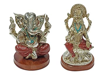 f53702e9bb01 Buy Ekan Home   Office Decor Laxmi Ganesha Statue