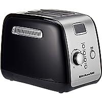 KitchenAid 5KMT223GOB 2 Slot Toaster, Onyx Black