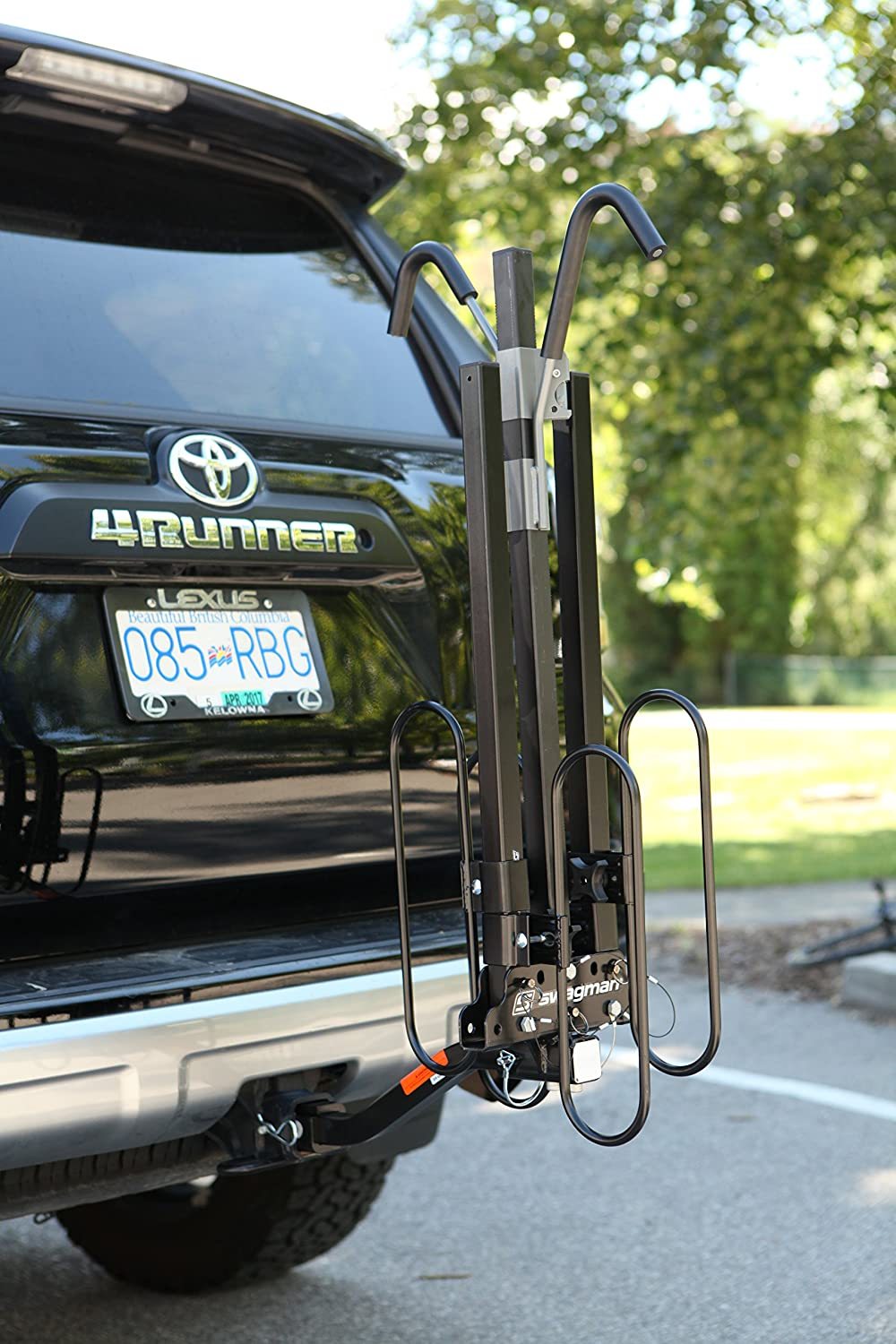 Swagman XC Cross-Country 2-Bike Hitch Mount Rack Swagman Bicycle Carriers 64650 1//1//4 and 2-Inch Receiver
