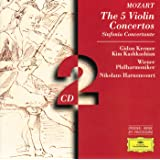 Mozart: The 5 Violin Concertos; Sinfonia Concertante (2 CD's)