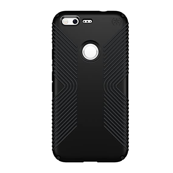 buy online df413 d7126 Speck Products Presidio Grip Cell Phone Case for Google Pixel XL -  Black/Black