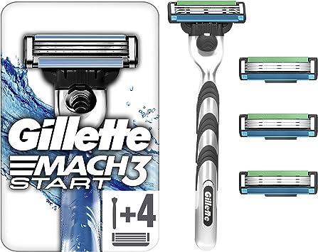 Gillette Mach3 Start para hombres con Aqua Grip de mano unidades ...