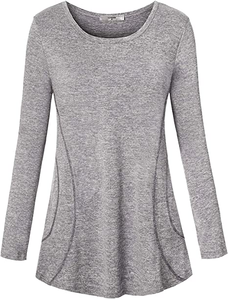 Amazon.com: Luranee - Camiseta de manga larga para mujer ...